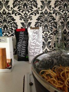 Einfachheit: Pfeffer und Salz