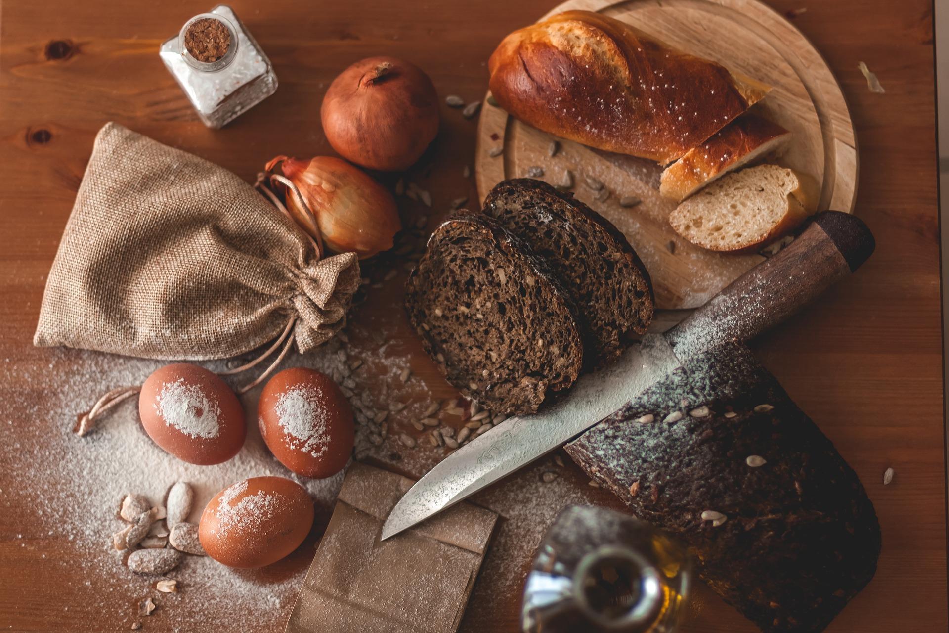 Salz hochzeit spruch und brot Brot und