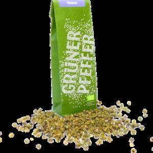Grüner Pfeffer Malabar